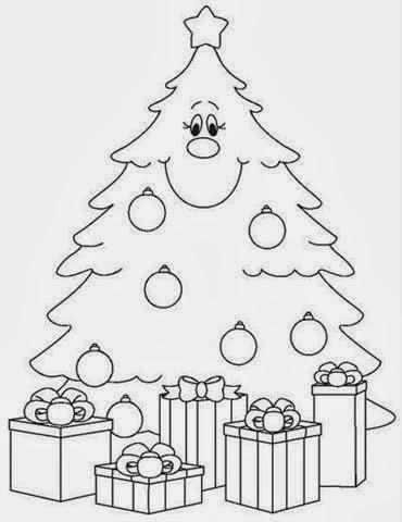 Arbol de Navidad para Colorear, parte 3 - IMÁGENES PARA WHATSAPP ® y ...