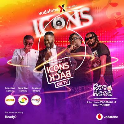 "Vodafone ""Icons"" Hits TV Screens"