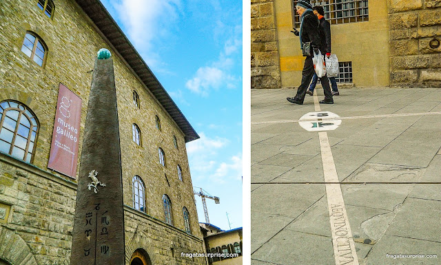 Museu Galileu Galilei, Florença, Itália