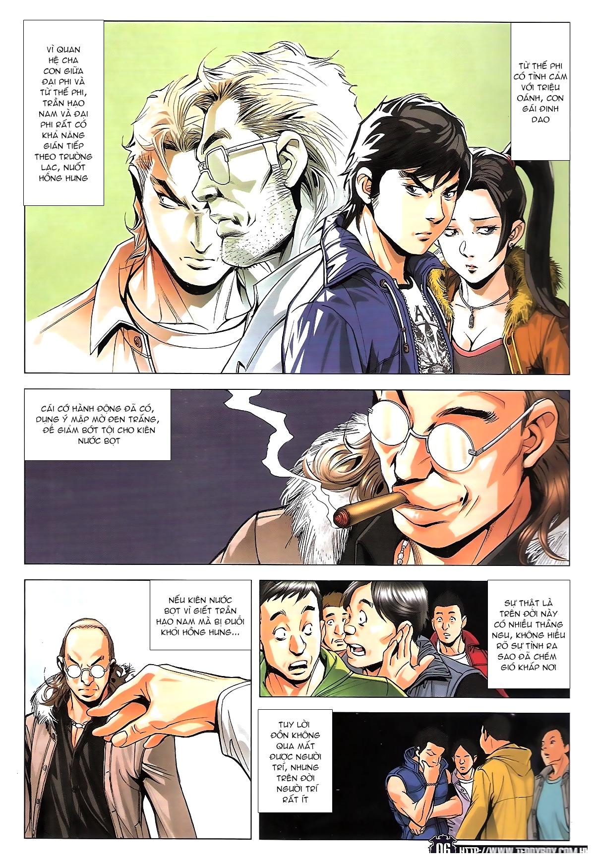 Người Trong Giang Hồ chapter 1784: cự long ngủ say trang 4