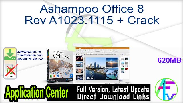 Ashampoo Office 8 Rev A1023.1115 + Crack
