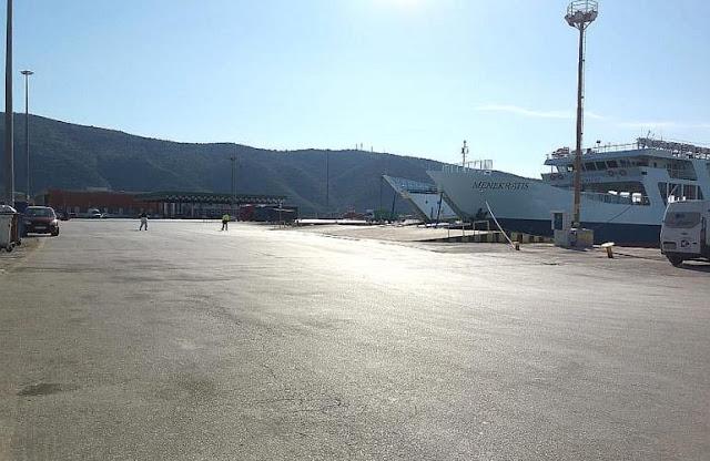 Ήγουμενίτσα: Κάθετη πτώση στην επιβατική κίνηση στις πορθμιακές γραμμές Ηγουμενίτσας - Κερκύρας