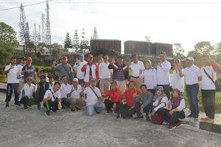 Bupati Lampung Barat Jalan Santai dan Tanam Pohon di KRL