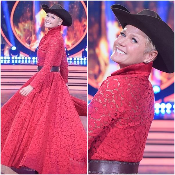 looks vestido Xuxa no Dancing Brasil