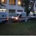 Біля Київської клінічної лікарні №9 утворилася черга карет швидкої допомоги з інфікованими на COVID-19