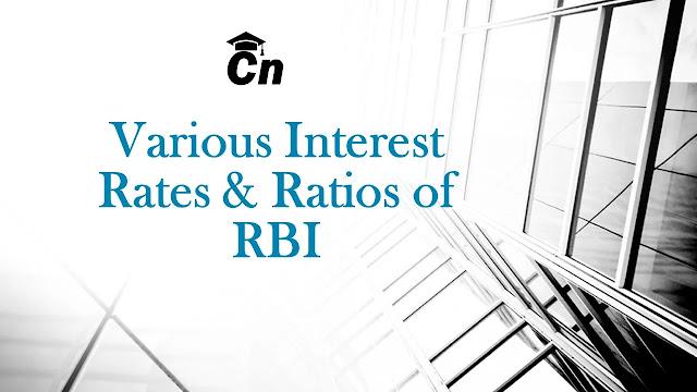 Various Interest Rates & Ratios of RBI, Careerneeti Logo