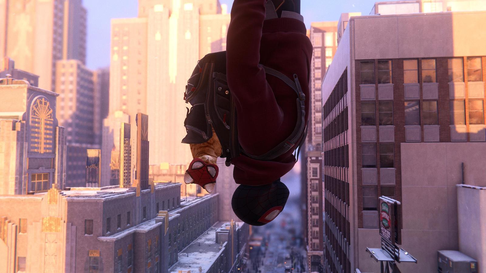 """Cat Suit"" in Marvel's Spider-Man: Miles Morales"