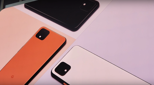 Google Pixel 4 and Pixel 4xl Look