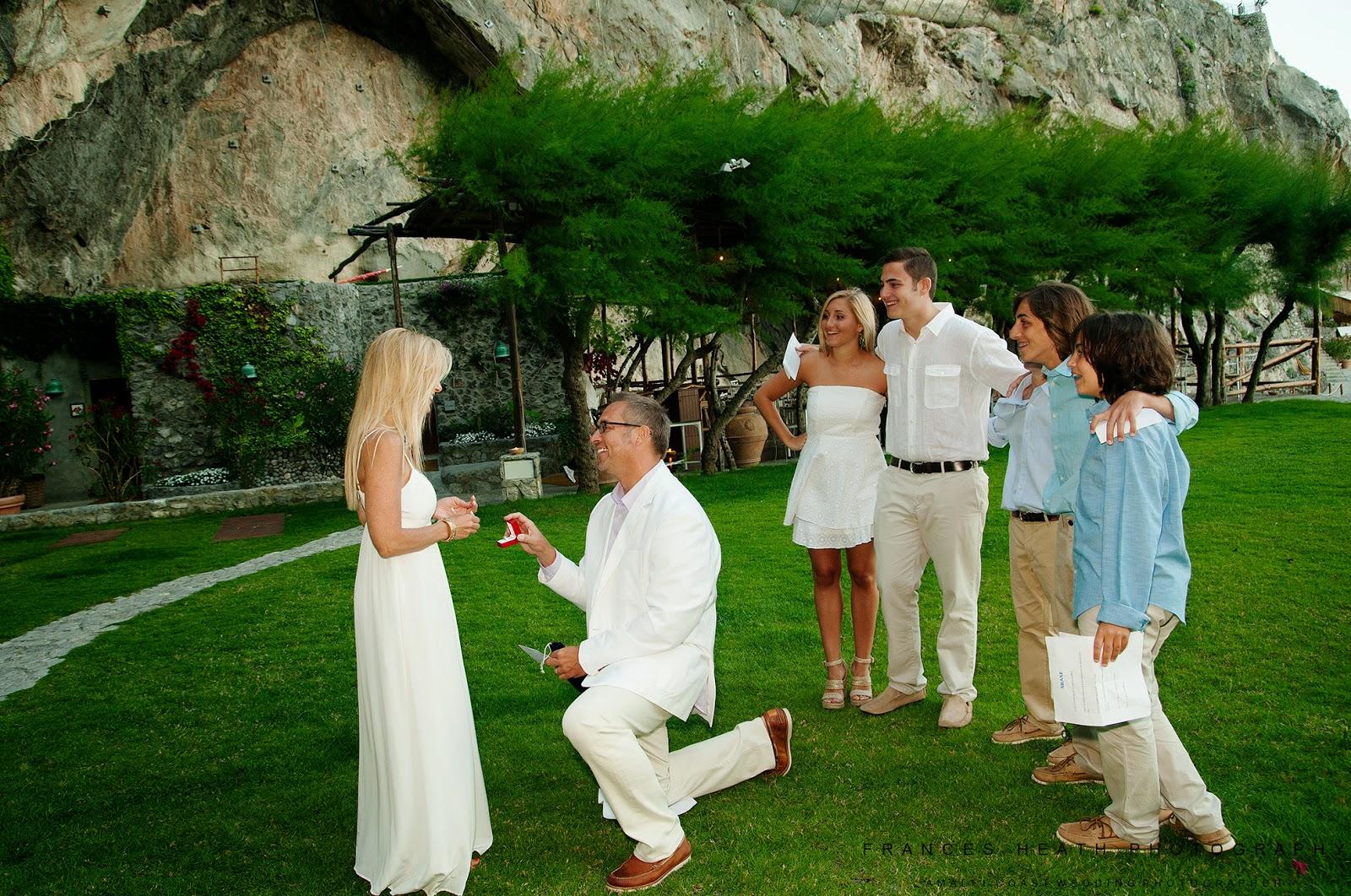 Wedding anniversary in Hotel San Pietro Positano