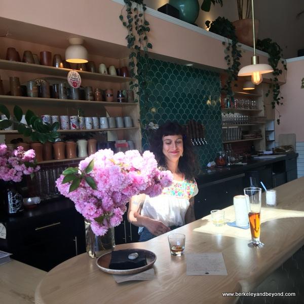 bar at Rose's Taproom in Oakland, California