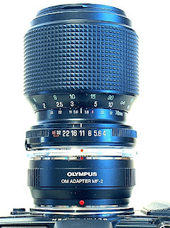 Tamron Adaptlall-2 70-210mm F4~5.6, Top