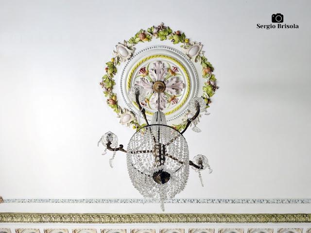 Palacete Basílio Jafet (lustre da antecâmara do terraço coberto)