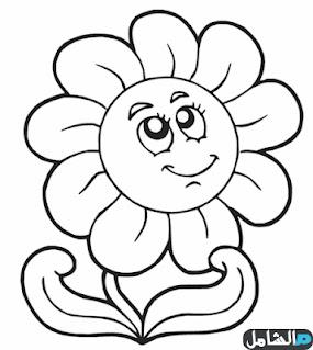 رسومات اطفال للتلوين pdf