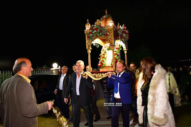 Πανηγυρικός εσπερινός για τον Άγιο Νικόλαο στην Άκοβα Άργους (βίντεο)
