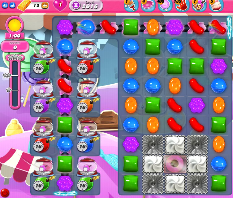 Candy Crush Saga 2016