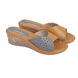 Sandal Wedges Wanita Catenzo AY 609