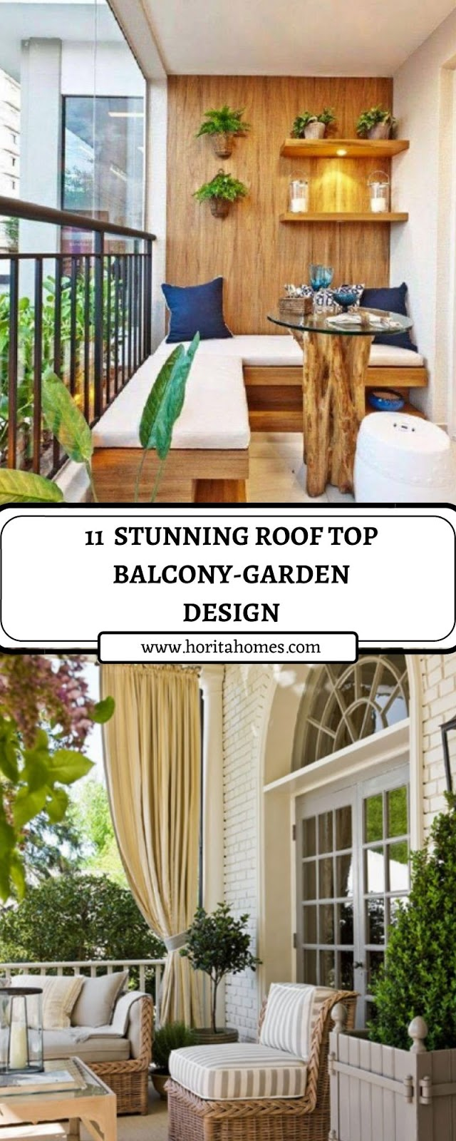11  STUNNING ROOF TOP BALCONY-GARDEN DESIGN