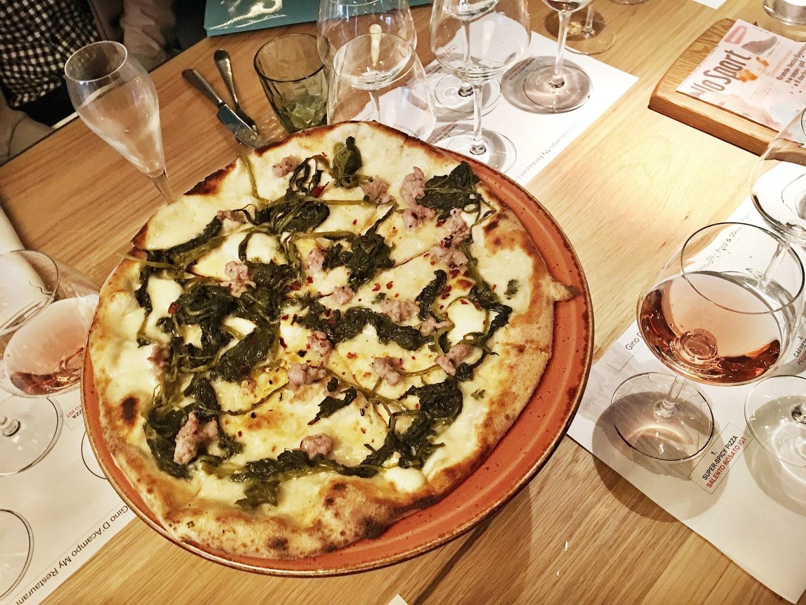 Gino's My Restaurant Liverpool Pizza sharing