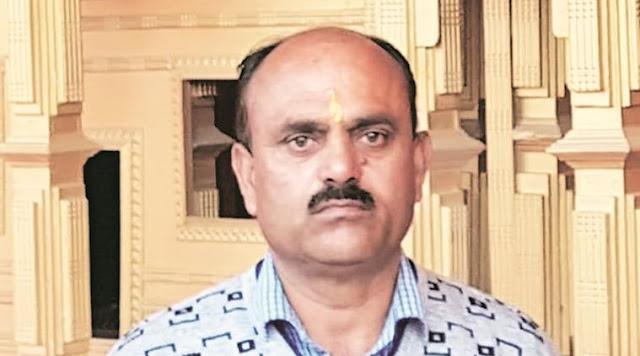 RSS functionary Chanderkant Sharma