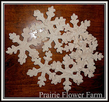 "Grungy Snowflakes ""For Sale"""