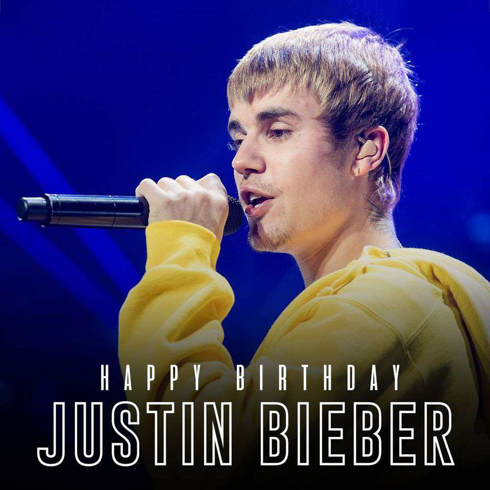 Justin Bieber's Birthday Wishes Sweet Images