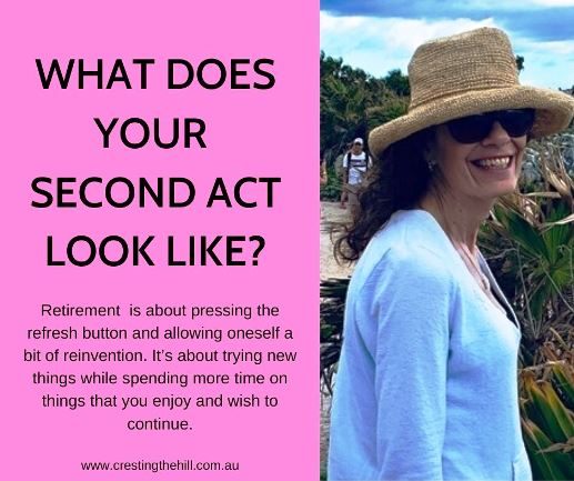 Retirement  is about pressing the refresh button and allowing oneself a bit of reinvention. It's about trying new things while spending more time on things that you enjoy and wish to continue. #retirement
