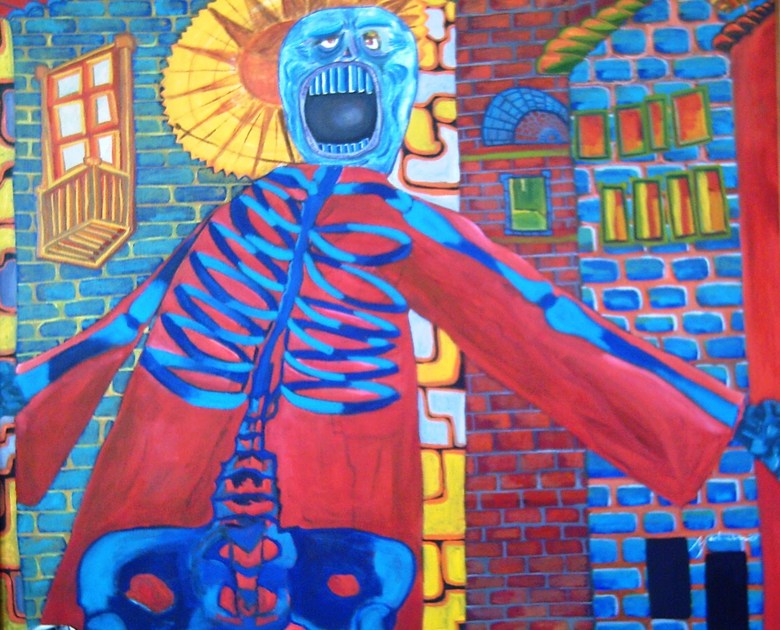Pintura: Omar Medrano