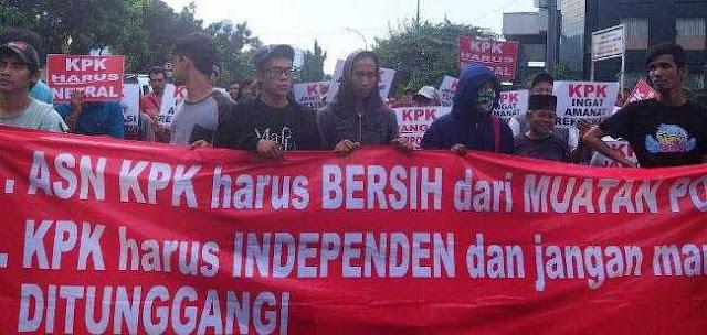 KPK Harus Responsif, Segera Pecat Penyidik Yang Berafiliasi Partai Politik