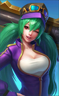 Layla Green Flash Heroes Marksman of Skins V2
