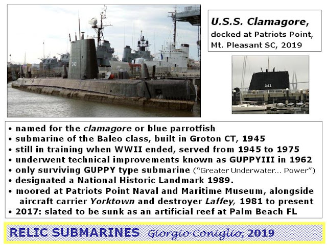 submarines; Patriots Point Naval and Maritime Museum; Mt. Pleasant; South Carolina; Giorgio Conigljo