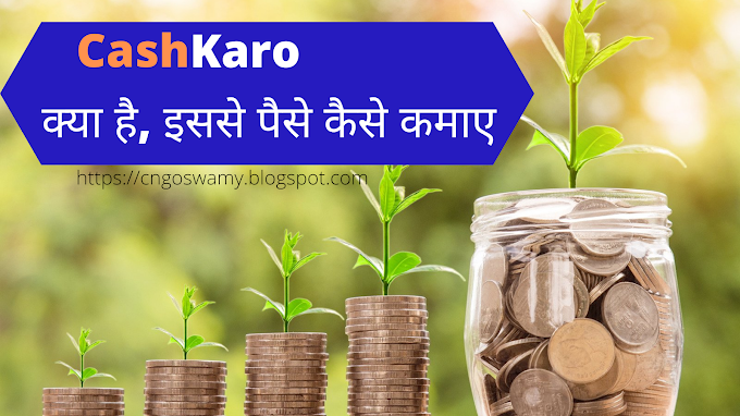 Cashkaro क्या है? CashKaro से Shopping करके पैसे कैसे कमाये?