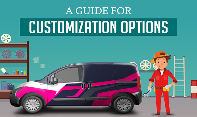 A Guide for Customization Options #infographic