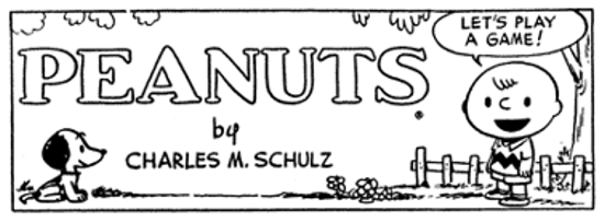 Peanuts header 1952