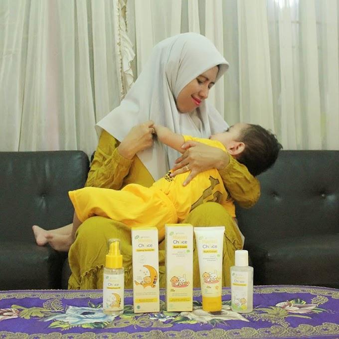 MAMA'S CHOICE BABY RASH CREAM; ANDALAN MAMA SAAT BUAH HATI MENGALAMI RUAM POPOK