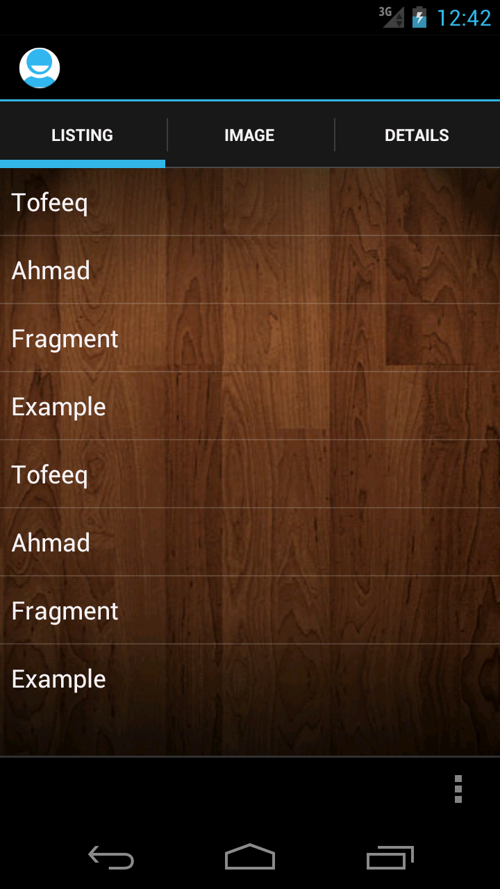 How to add image in fragment in android