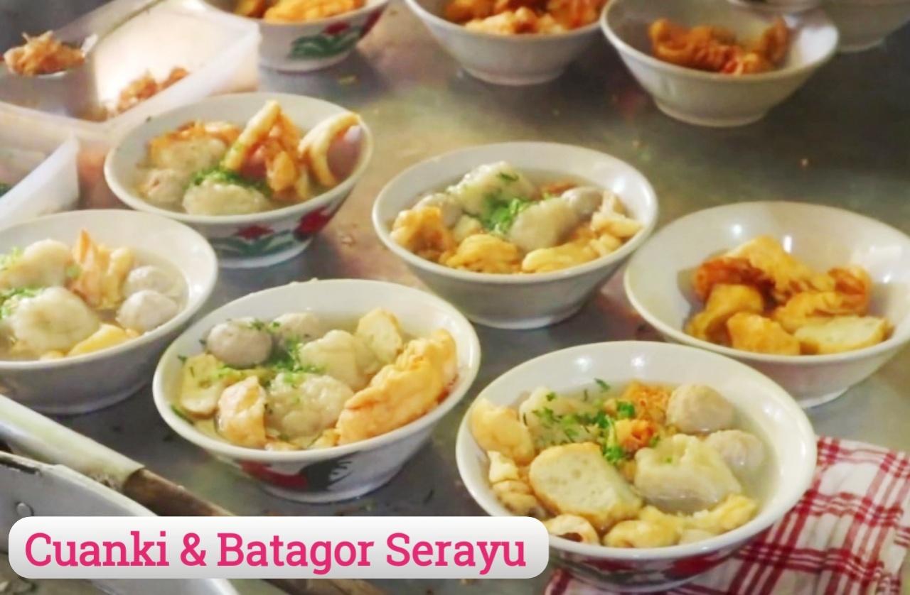 Cuanki dan Batagor Serayu, Kuliner Legendaris Paling Laris di Bandung