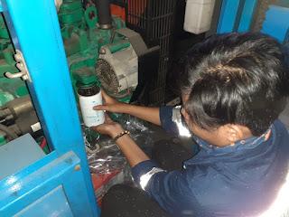 Service genset Banten