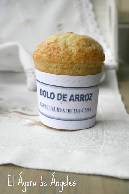 bolos de arroz, etiquetas bolos de arroz