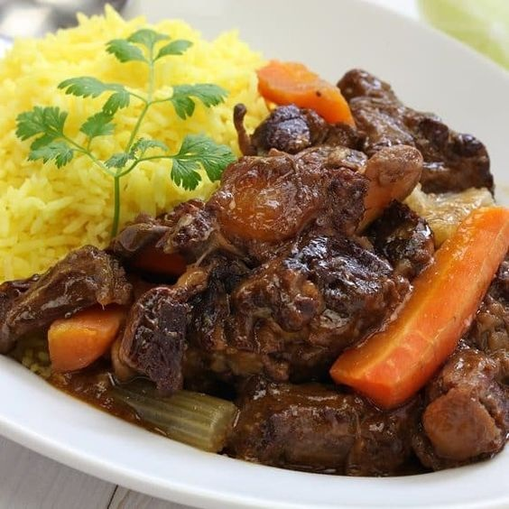Slow Cooker Cuban Oxtail Stew Recipe