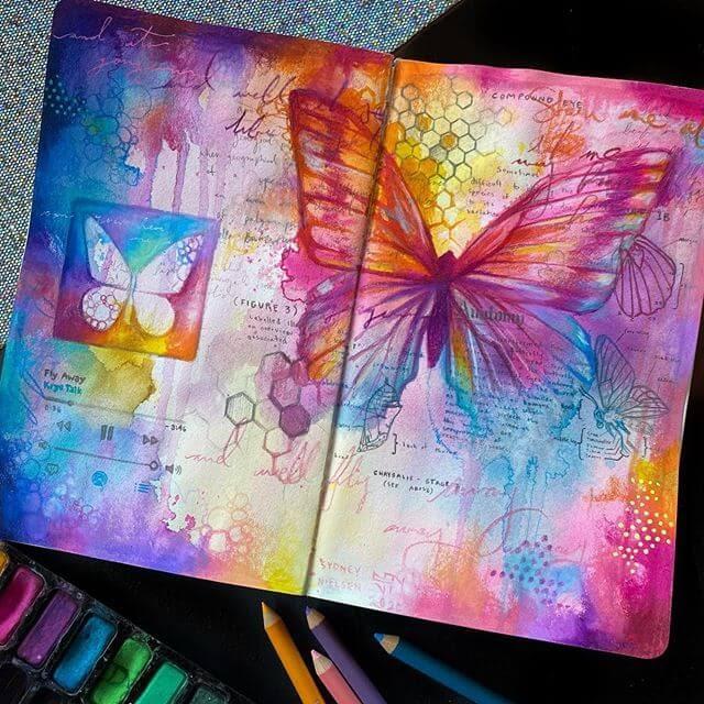 11-Butterflies-Sydney-Nielsen-Pencil-Drawings-www-designstack-co