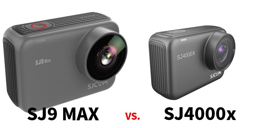 【攝影器材】SJCAM平價運動攝影機 最佳c/p值型號推薦 SJ4000x vs SJ9 MAX