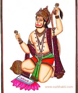 चुटकियों में समाप्त होगी समस्या hanuman ke 12 nam के जप से