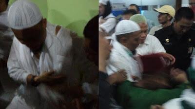 KH Arifin Ilham Terkena Gas Air Mata, Isu Terluka Kena Tembak Tidak Benar!
