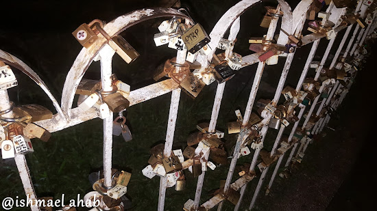 Love Locks in Baclaran Church in Pasay City