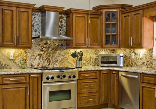 The 24-Hour Mommy: Solid Wood Cabinets are the Best Quality