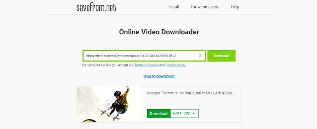 Savefrom Download - Cara Mendownload Video di Twitter Cepat dan Mudah | Ladangtekno