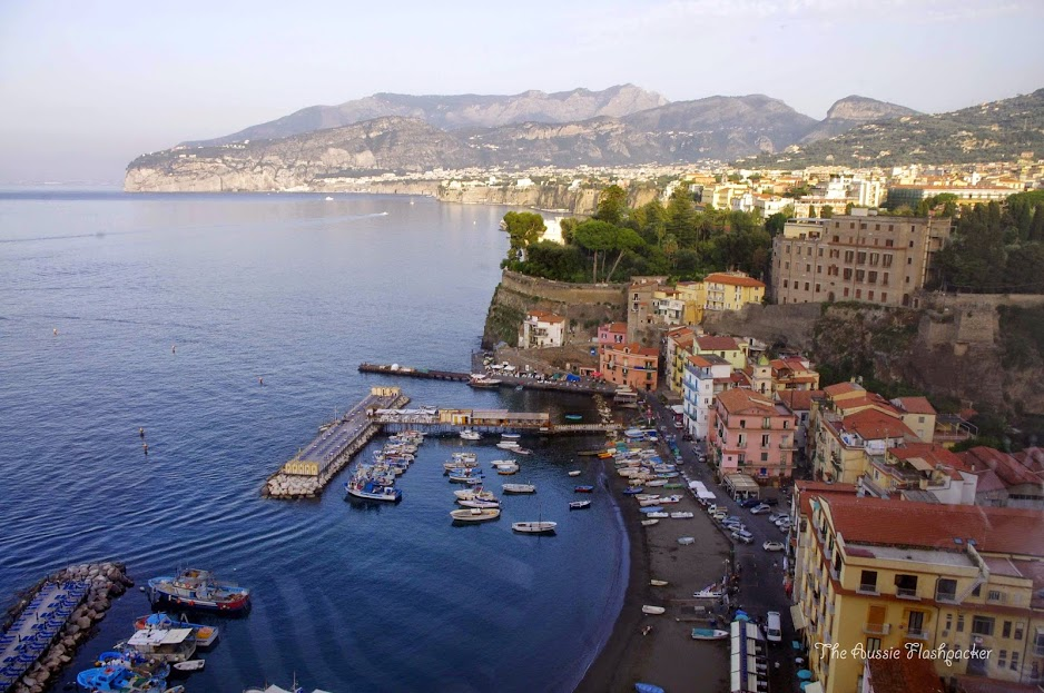 Sorrento Italy Beautiful Coastal Village