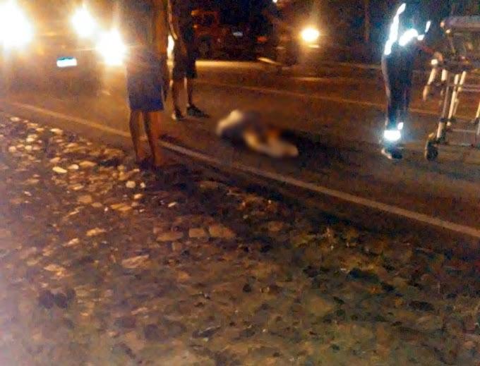 Pedestre acaba atropelada na rua 21 de Abril
