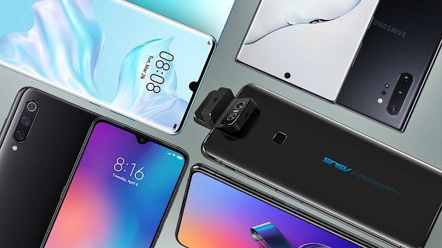 Los mejores móviles Android de gama alta de 2019