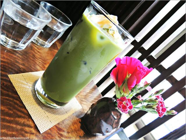 Matcha Latte Premium de Cha-An Teahouse en Nueva York